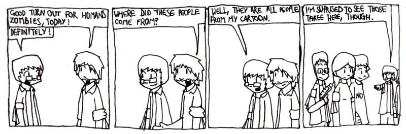 Humans vs Zombies Part 1