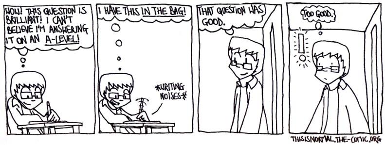 A Good Question - part 1