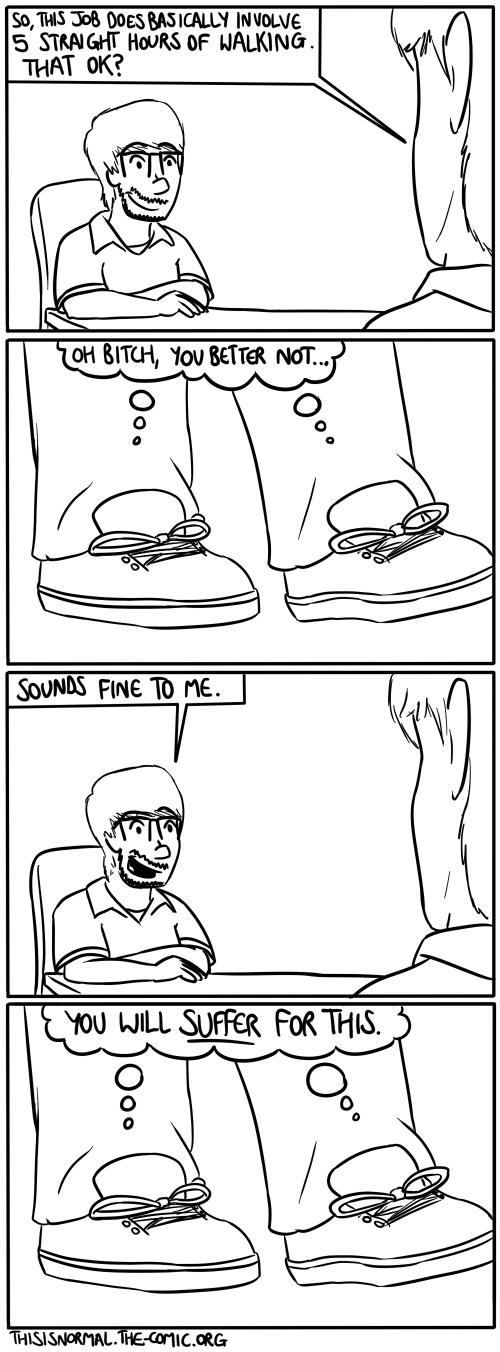 Unhappy Feet