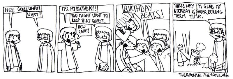 Term-Time Birthday