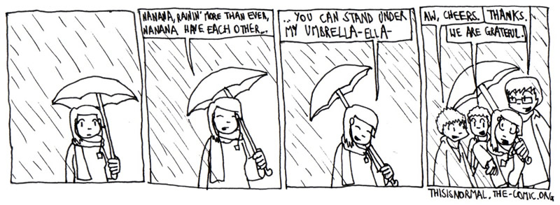 Now That it's Rainin' More than Ever...